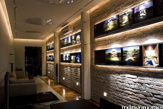 Na decoração de interiores para casas, o arquiteto deve traduzir o estilo dos clientes nos mínimos detalhes