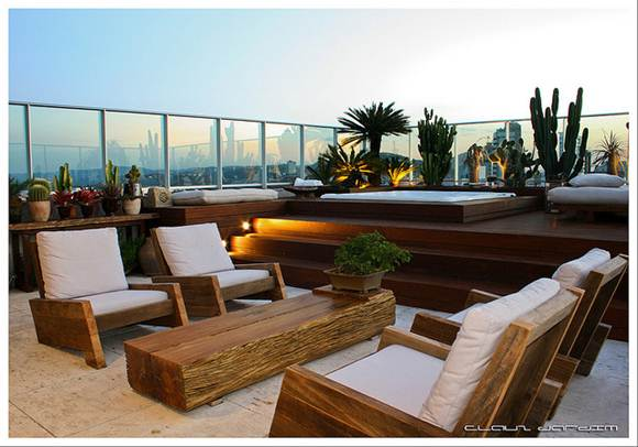 O arquiteto paisagista tem a função de estabelecer a harmonia entre o ambiente e as plantas