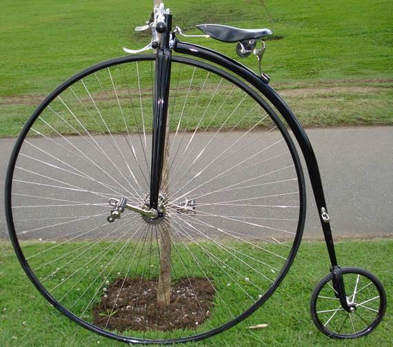 O biciclo foi elaborado para dar maior estabilidade e oferecer melhores condições de equilíbrio