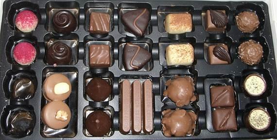 Chocolates pequenos e de vários sabores são os presentes favoritos entre os chocólatras