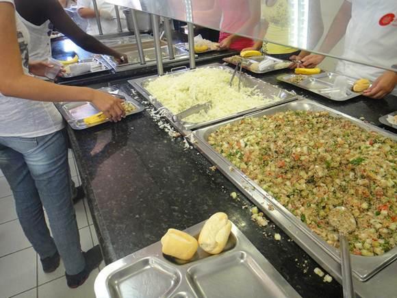 As refeições coletivas estão presentes na maioria das universidades federais