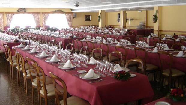 Vista de um restaurante tradicional