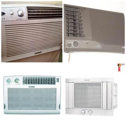 Aparelhos condicionadores de ar modelo Janela