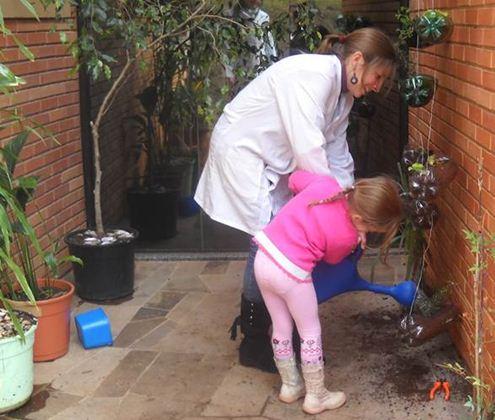 Ensino ambiental às crianças