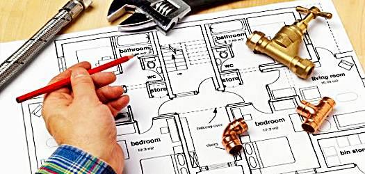 Antes de qualquer reforma que há a necessidade de quebrar paredes ou chão, é necessária a revisão do projeto hidráulico por um profissional