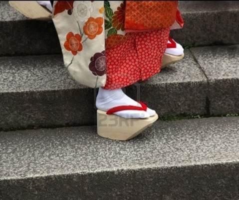Calçado japonês: Okobo