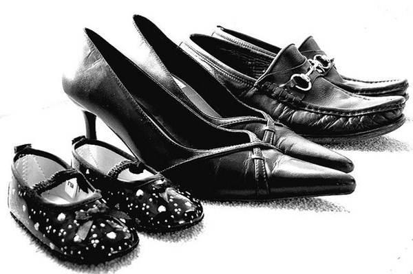 Calçados masculino, feminino e infantil em couro