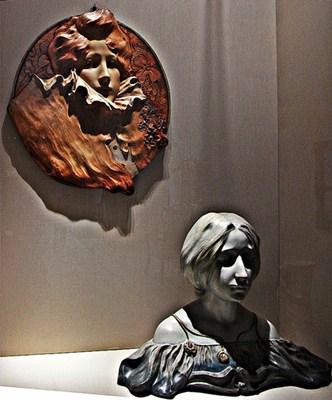 Estátuas feitas de cerâmica