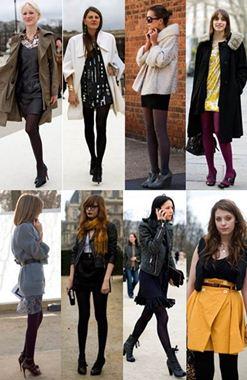 Dicas de como usar meia calça preta