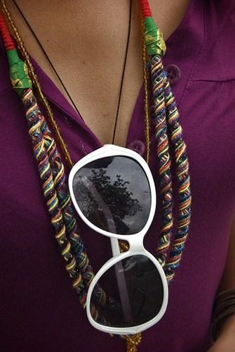 Os óculos são mais que proteção, eles se tornaram complementos nas combinações de roupas