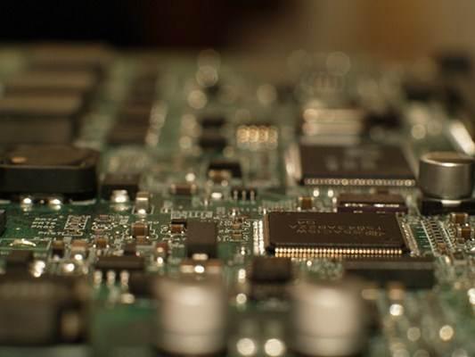 Peça interna de um computador