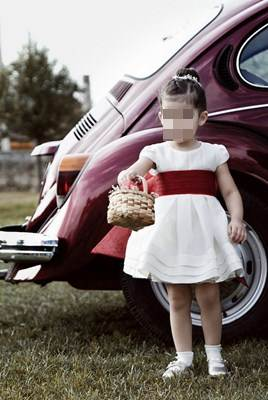 Moda infantil: vetido para festa