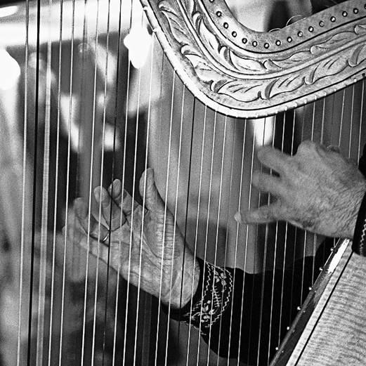 Instrumento predominante no Paraguai