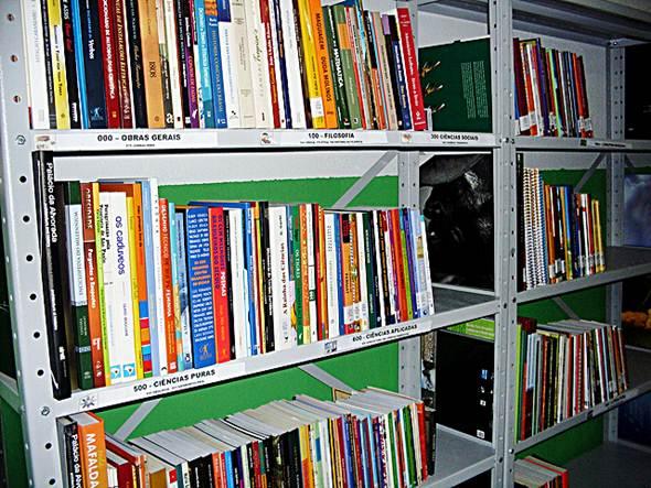 Acervo de uma Biblioteca Comunitária