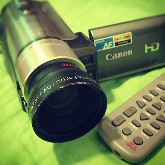 Câmera de vídeo, compacta e digital