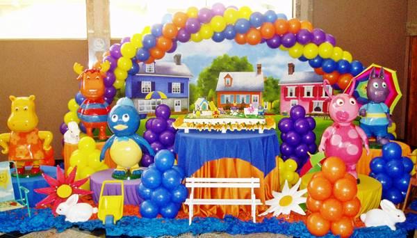 Exemplo de decoração para festas infantis