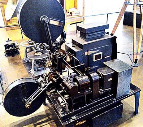Projetor de filmes dos antigos cinemas