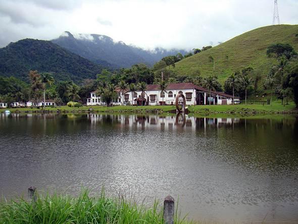 As fazendas são utilizadas para criação de gado e plantação