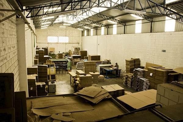 Fábrica de papelão