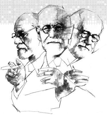 O pai da psicanálise, Sigmund Freud