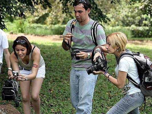 Vários tipos de câmeras e olhares