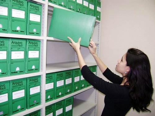 O profissional que organiza e reúne os documentos em suas devidas pastas é chamado de arquivista