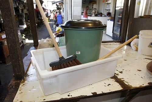 Kit básico para limpeza