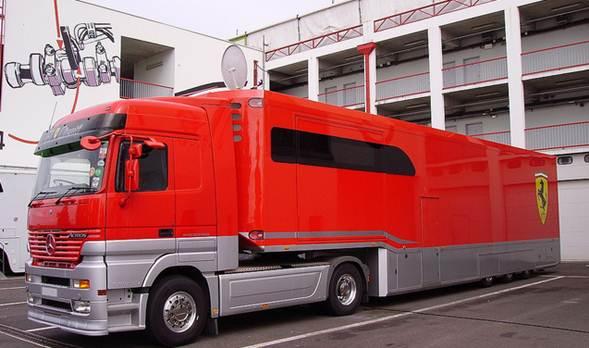 O transporte é de responsabilidade da logística de uma empresa ou companhia