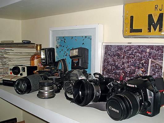 Máquinas fotográficas profissionais