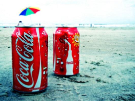 Embalagem refeita do refrigente Cola-Cola