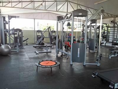 Nova sala de musculação Água Viva