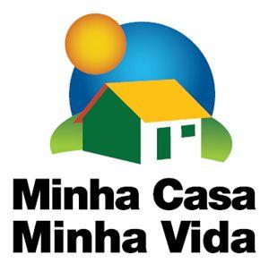 """Logomarca do Programa Federal """"Minha Casa Minha Vida"""""""
