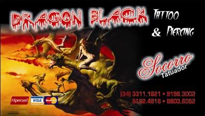 Dragon Black Tatuagem Uberaba