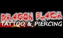 dragon black tattoo piercing