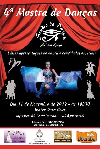 Mostra de Danças Andrea Gaya