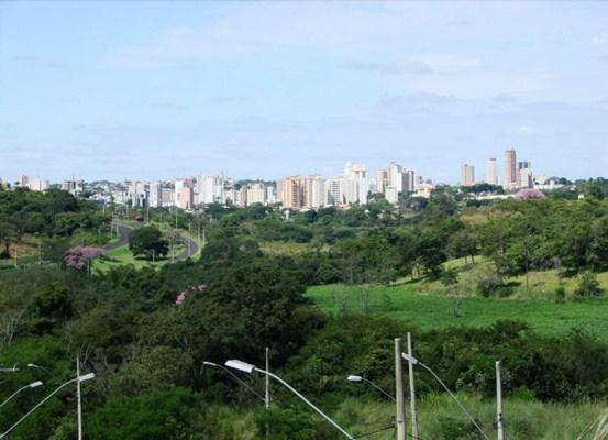 Vista do centro de Uberaba - Centro de Convenções CDL Hall - Foto: Anderson S. Matos