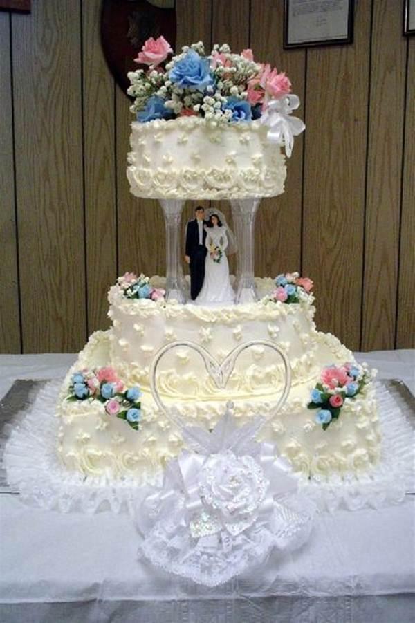 Bolo tradicional de casamento - Foto MogueFile @earl53